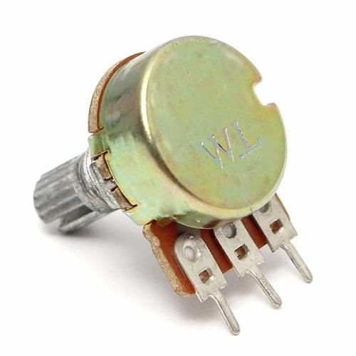 potenciometro 5k ohm miniatura 15mm robotica arduino pic avr