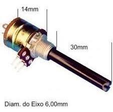 potenciometro c/chave log 2k2 mini