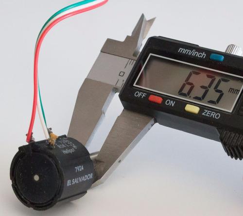 potenciómetro multivuelta - 10 vueltas precision 20k