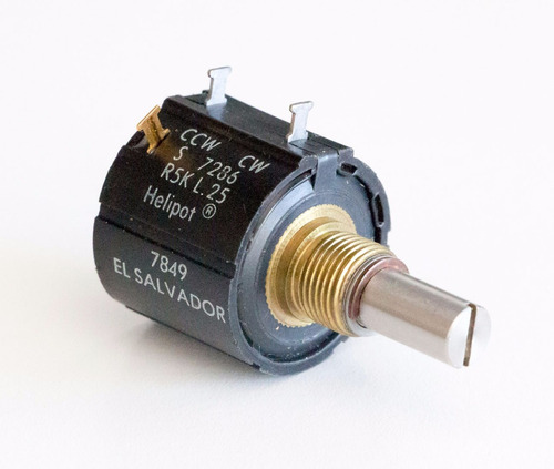 potenciómetro multivuelta - 10 vueltas precision arduino