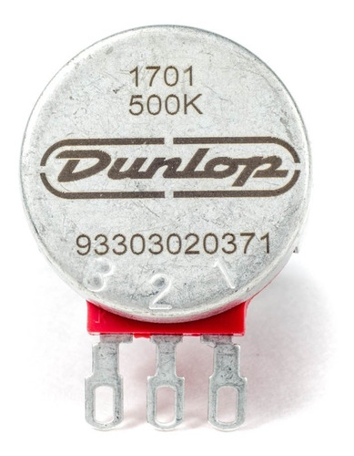 potenciómetro súper 500k eje dividido dunlop dsp500k