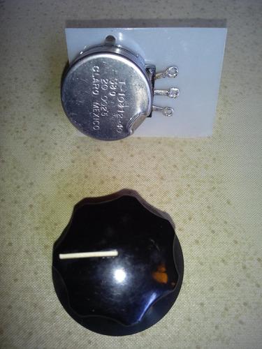 potenciómetro voltaje de maquina de soldar miller lincoln