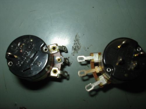 potenciometros diversos c/ e sem chave