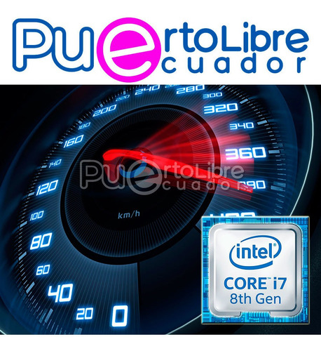 potente dell intel core i7 8va 1 tb 28 gb + touch + regalos!