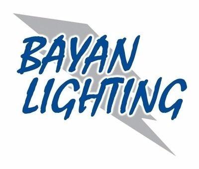 potente extractor metalico de aire bayan lighting bpt15-24c