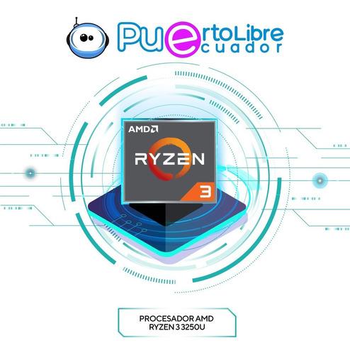 potente hp 14 ryzen 3 mejor q i3 + 8 gb ram + 1 tb + regalos