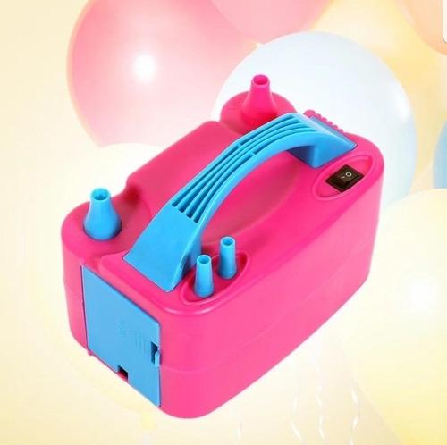 potente inflador de bombas electrico para tus fiestas globos
