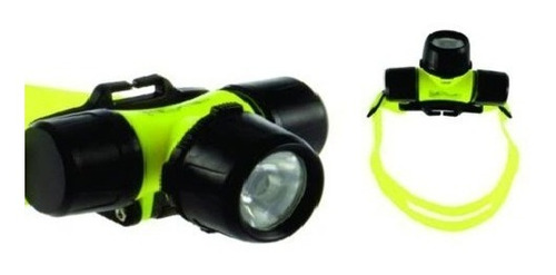 potente linterna led para cabeza de buceo sumergible