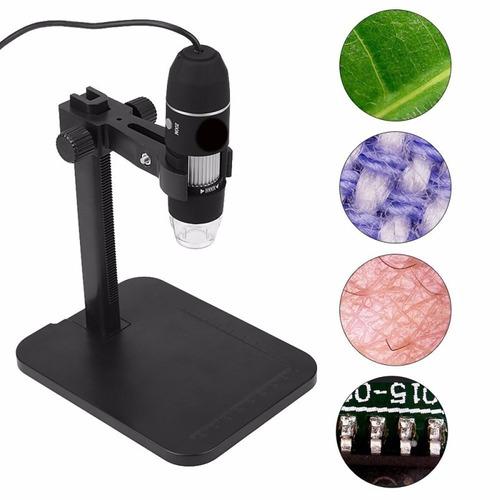 potente microscopio digital hd usb 1000x zoom con base