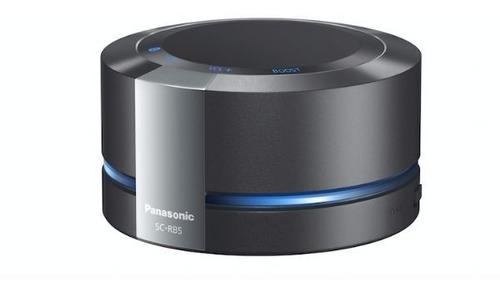 potente parlante portátil bluetooth panasonic sc-rb5 batería