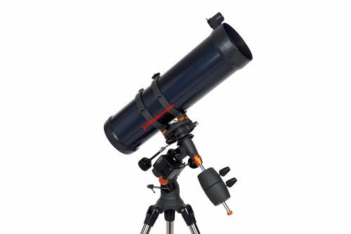 potente telescopio celestron astromaster 130eq con motor e.u