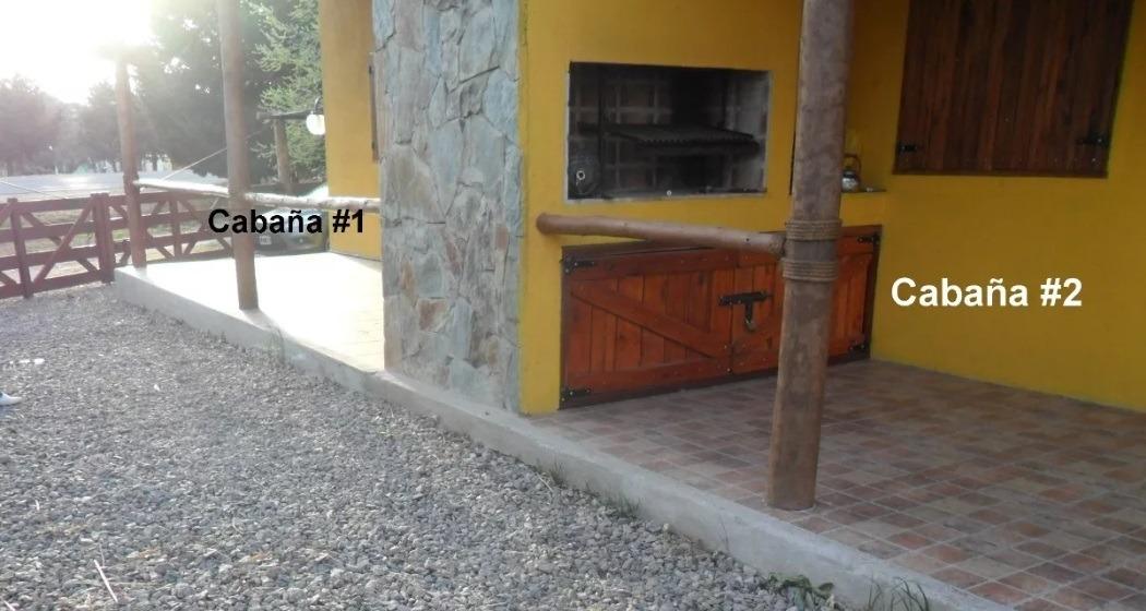 potero de los funes - juana koslay - cabaña para 5 personas