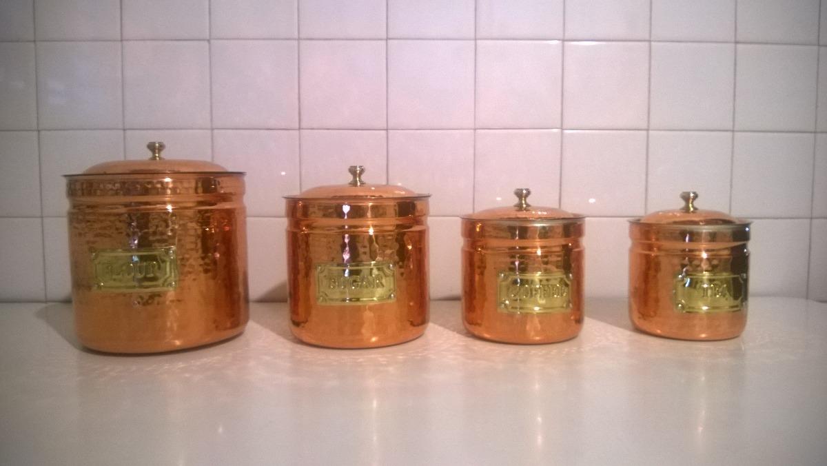 Potes De Cocina De Cobre - Bs. 80.000,00 en Mercado Libre
