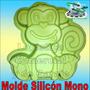Molde Silicón Modelo Mono Torta Quesillo Gelatina Y Mas