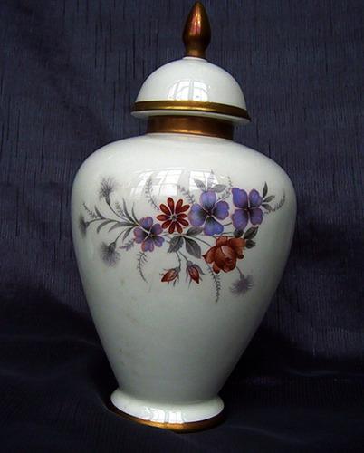 potiche vintage sussex porcelana fanaloza exportacion nuevo