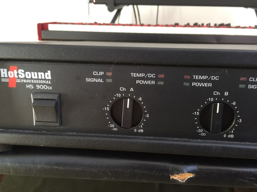 potência hot sound hs 900 sx