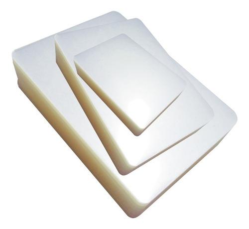 pouch carnet 130 x 90 plastificado laminado 150 mic x 40