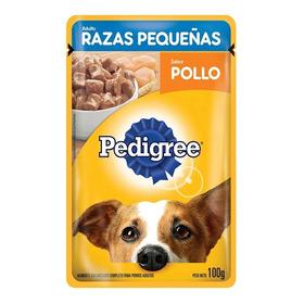 Pouch Pedigree Sabor Pollo Raza Peq X 100 Gr Envió