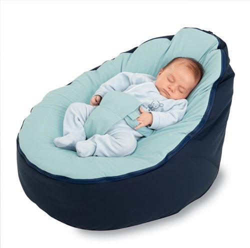 pouf nido peras para bebés y niños