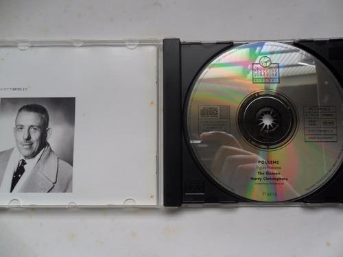 poulenc - figure humaine harry chistophers cd importado