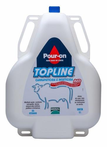 pour on top line merial boi bovino vaca.
