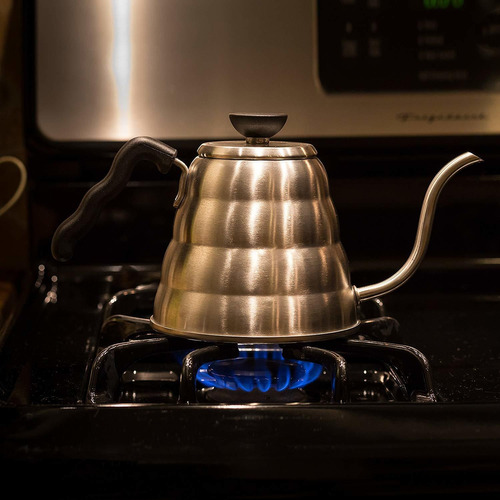 pour over hervidor de agua por goteo de café. premium c