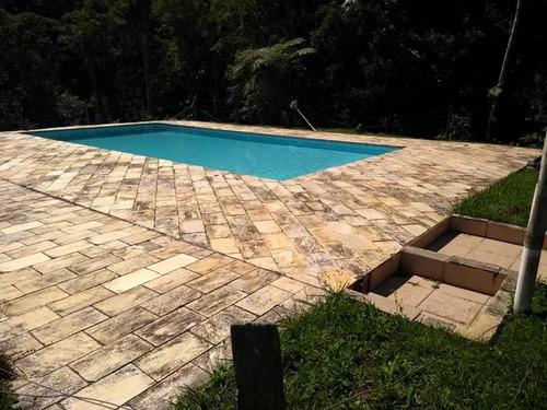 pousada- juquitiba/ 10 suítes/ lagos/ piscina. ref.: ch00006