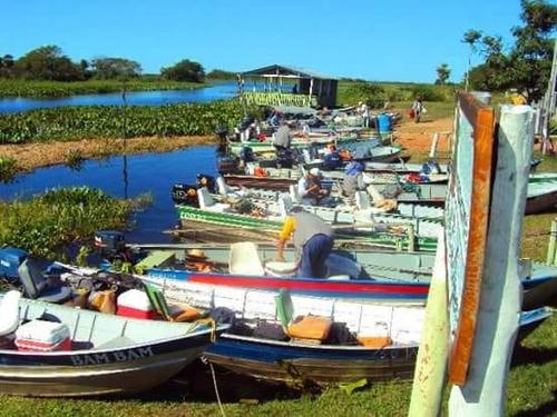 pousada no pantanal - infraestrutura de pesca  / fa-071