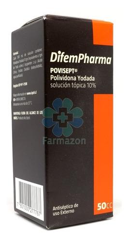 povidona yodada 10% 50cc - deltamed