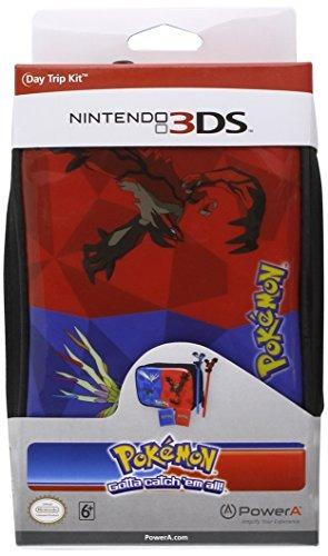 power a kit de viaje de día pokemon x / y - nintendo 3ds