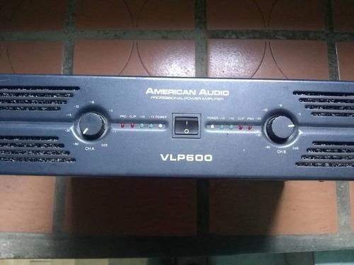 power / amplificador american audio