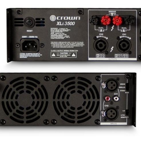 power amplificador crown xli 3500 totalmente nuevo