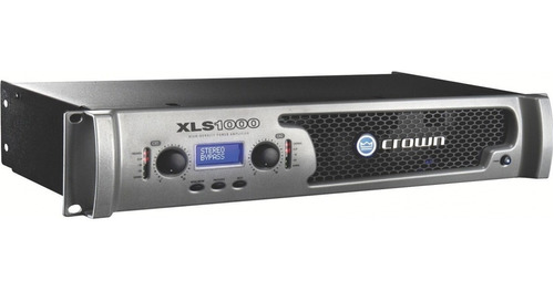 power amplificador crown  xls 1500