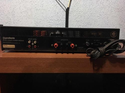 power amplificador gradiente pm 80