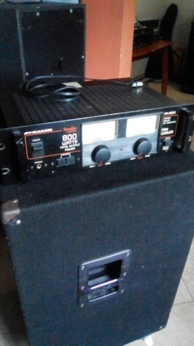 power amplificador pyramid 800watt