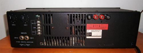 power amplificador qsc modelo usa 850 watts