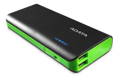 power bank 10000mah adata pt100 cargador bateria portatil