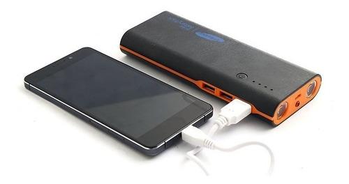 power bank 12000 mah cargador portatil linterna