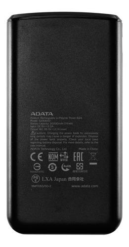 power bank 20000mah adata cargador bateria portatil celular