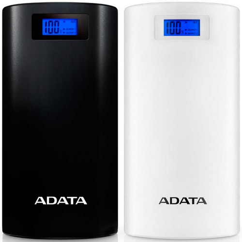 power bank 20000mah adata p20000d bateria portatil celular
