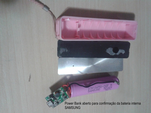 power bank 2600mah-azul-bateria interna samsung p/ pokémon