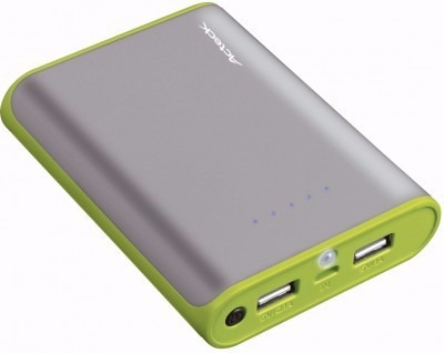 power bank acteck pb-1000, gris, 1000 mah