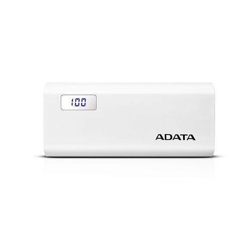 power bank adata 12500mah doble usb p12500d blanco