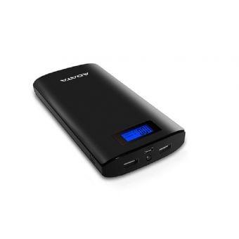 power bank adata p200000d, batería portátil recargable y lin