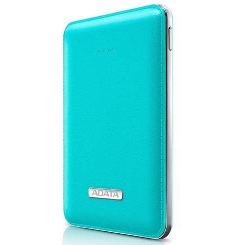 power bank adata pv120  apv120-5100m-5v-cbl 5100mah azul