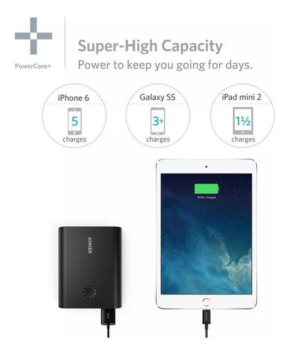 power bank anker 13400 premium batería externa smartphone