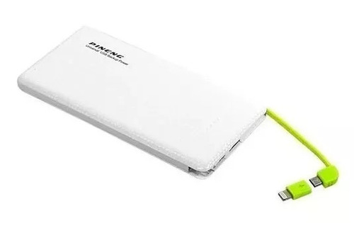 power bank bateria extra pineng 1 linha slim pn951 10000mah