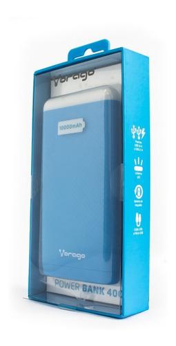 power bank bateria portatil 10000mah 2 usb vorago pb-400 a