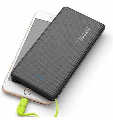 power bank bateria portátil slim entrega rápida