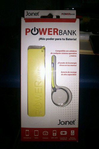 power bank bateria respaldo celulares iphone tablet 2600mah